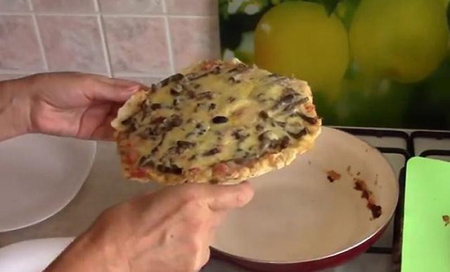 быстрая пицца