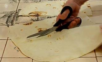 лаваш и ножницы
