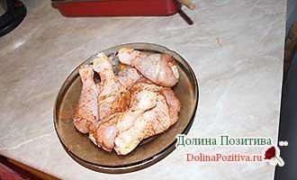голени курицы