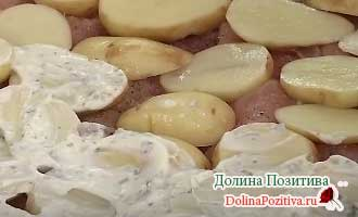 картошка с майонезом