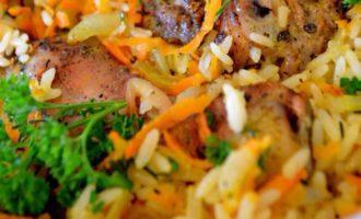 курица с рисом в духовке рецепт самый вкусный