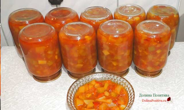 салат анкл бенс с томатной пастой