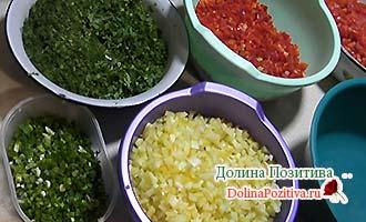 овощи для заморозки в баночке
