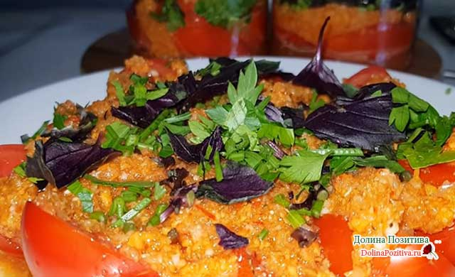 помидоры по корейски с приправой для корейской моркови