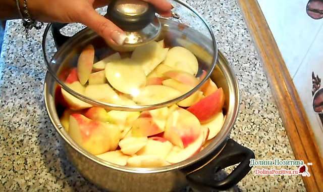яблоки для джема
