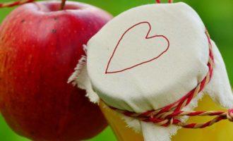 яблоки в собственном соку на зиму