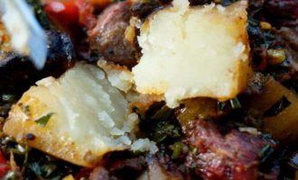 баклажаны по грузински с мясом