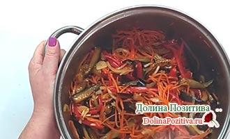 баклажаны порезанные с овощами