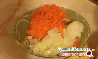 лук с морковкой