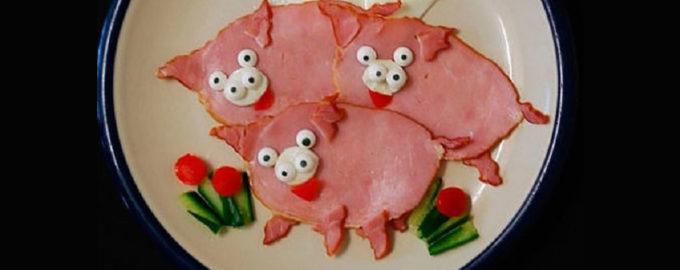 блюда в виде свиньи на новый год 2019