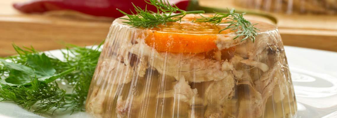 Холодец из курицы с желатином рецепт с фото пошагово