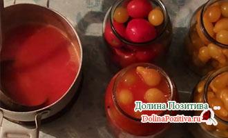томатный сок для заготовок