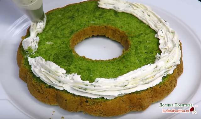 украшение торта закусочного