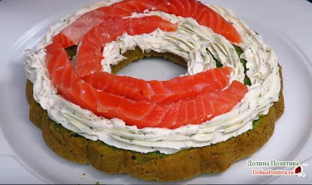торт закусочный пошагово