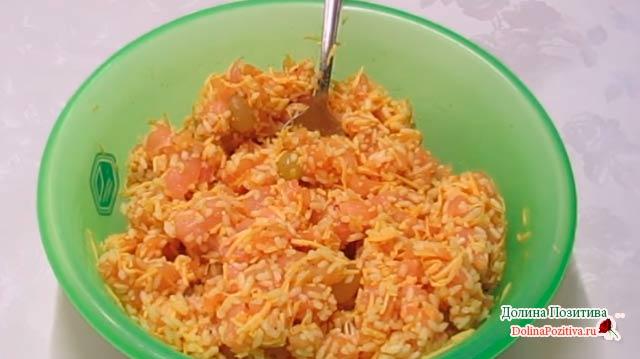 филе с рисом