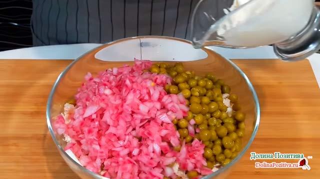 перемешиваем салат