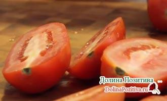 помидоры разрезанные