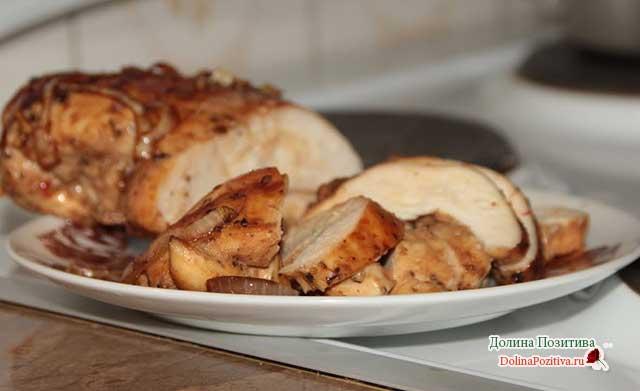 куриное филе в соевом соусе