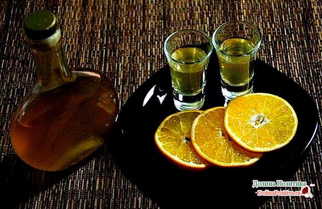 апельсиновый алкогольный напиток