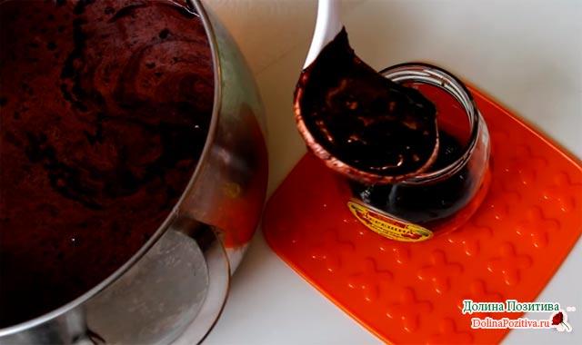 варенье в шоколаде