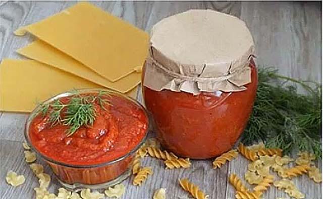 Как приготовить кетчуп из кабачков которого всегда мало