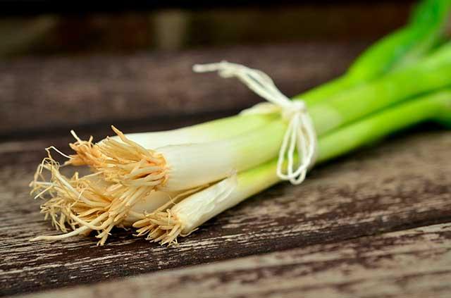 зеленый лук