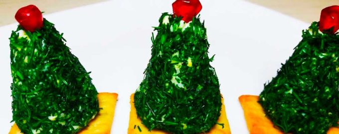 елочка на крекере