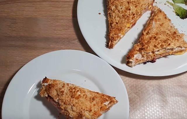 закуска с лавашом