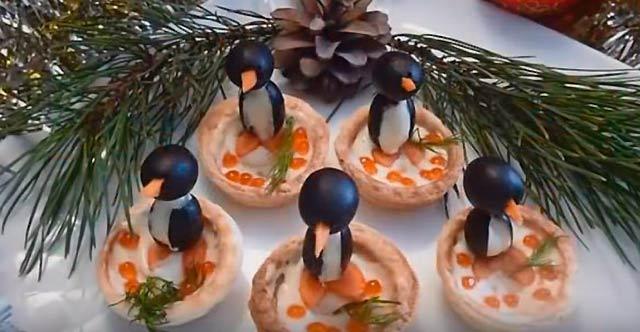 пингвины закуски