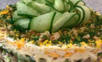 салат малахитовая шкатулка