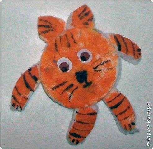 тигр из диска