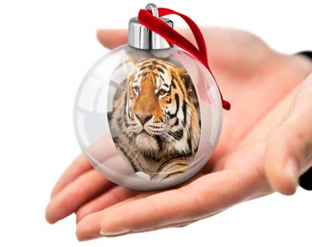 тигр из шарика