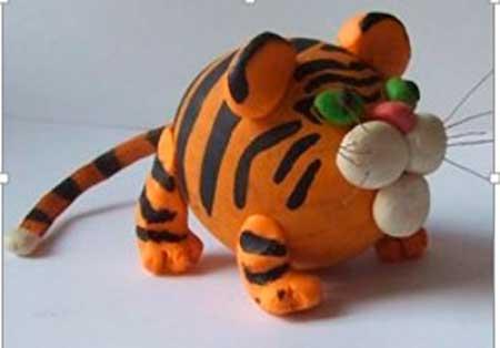 тигр из скорлупы